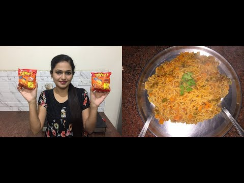 Yippee Noodles Recipe | How To Make Yippee Noodles in Hindi | Kids Special with Vegetables | F3