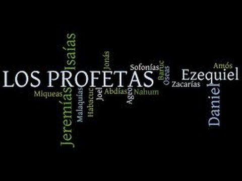PROFETAS DE ISRAEL, PROPHETS OF ISRAEL, Profetas Mayores Y Menores