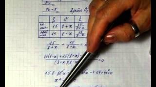 Решение текстовых задач на движение