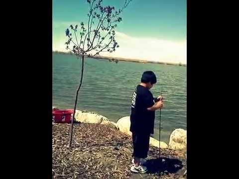 Fishing at bountiful lake salt lake city