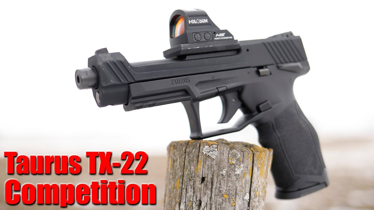 Taurus TX 22 Competition First Shots & Impressions