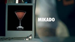 MIKADO DRINK RECIPE - HOW TO MIX