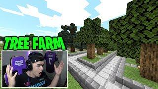 TREE FARM! (minecraft ep.33)