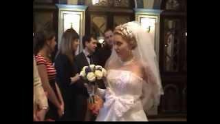 Свадьба ,выход невесты. Часть 2.Для меня ты одна желанная.