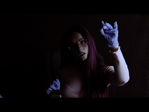 ASMR ☽ VAMPIRE DOCTOR .:. (energy grounding, hand movements, personal attention)