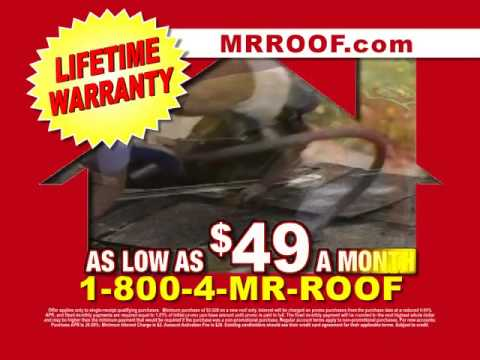 Superior Mr. Roof $49 Per Month Financing