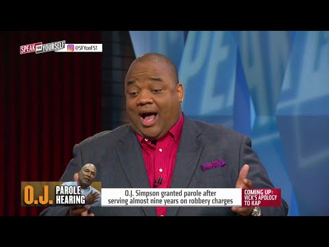 Jason Whitlock explains why he was 'shocked' O.J. Simpson granted parole | SPEAK FOR YOURSELF