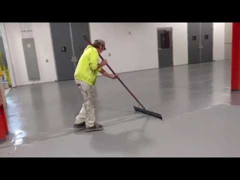 Broadcast Epoxy Floor Project in Wisconsin - Lakeside Painting