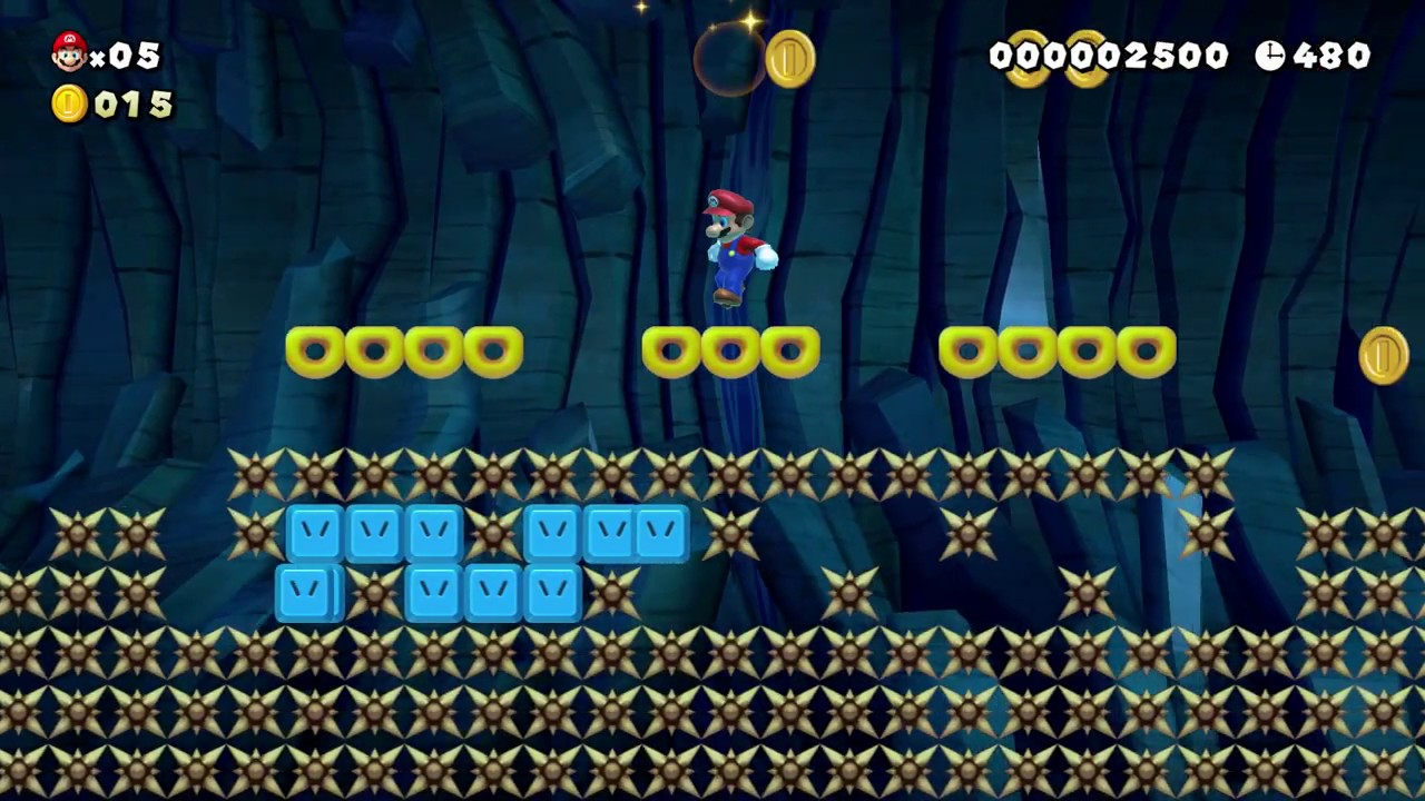 Super Mario Maker 2: Story Mode Level (64 Fast Snake Block Frontier) [1080  HD]