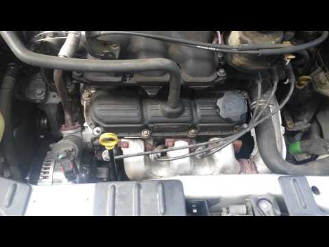 How to install a starter on a 2006 Chrysler Town and Country Touring minivan 3.8
