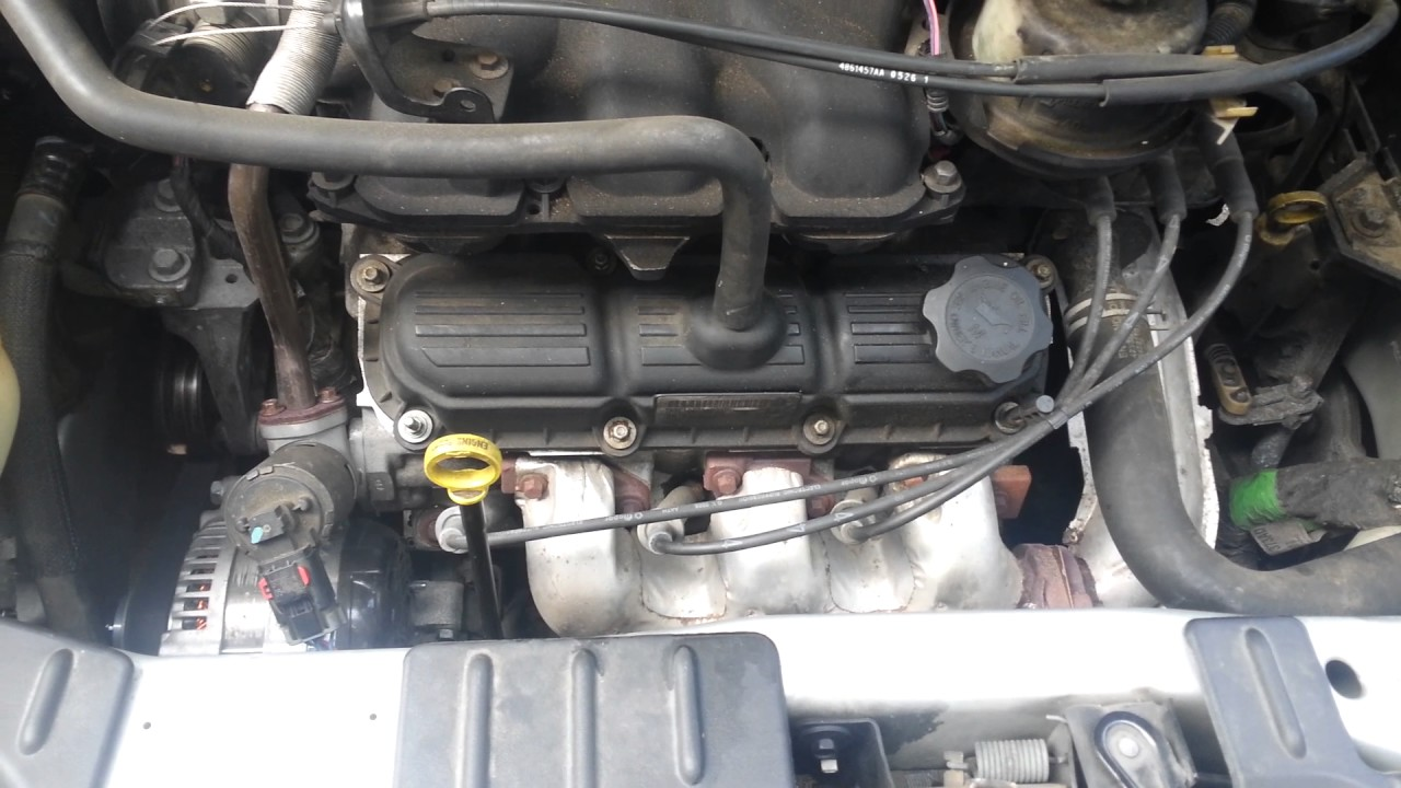 How To Install A Starter On 2006 Chrysler Town And Country Touring Caravan 2 4 Engine Diagram Minivan 38