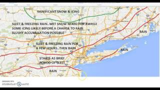 Northeast Ice Storm Forecast For the Interior 12282015