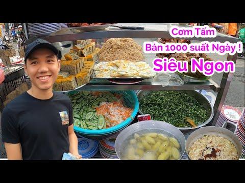 Bất ngờ quán cơm tấm đêm Siêu ngon bán 1000 suất/ ngày | Saigon Travel
