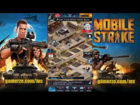 Mobile Strike ••Unlimited Gold•• Cheat ◄Hack►