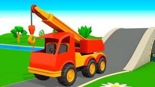 Мультфильм про рабочие машины: Строительная техника: Презентации для детей(Мультфильм про машины познакомит ребят со строительной техникой ( трактор, грузовик, каток, подъемный кран,..., 2015-01-22T10:55:08.000Z)