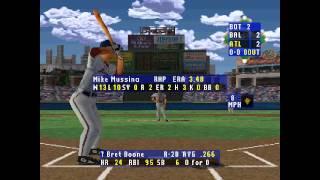 High Heat Baseball 2000 ... (PS1) 60fps