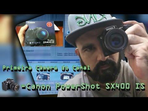 CANON PowerShot SX400 IS (Primeira câmera do canal)