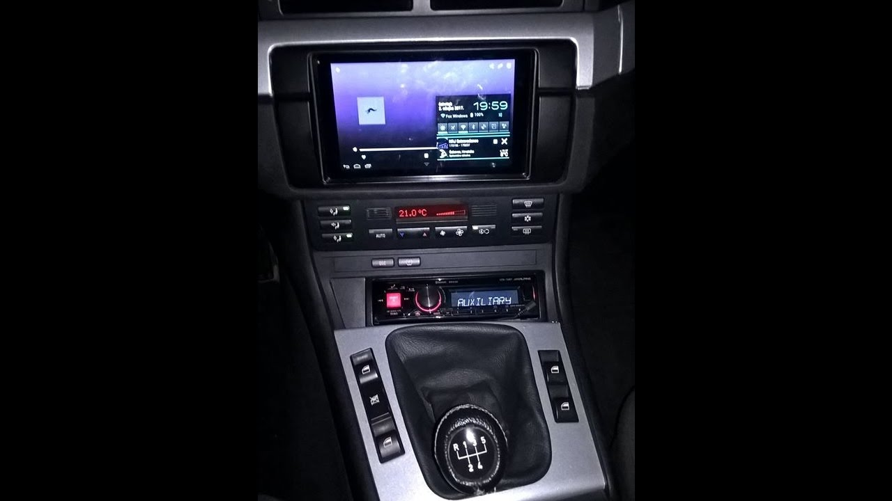 How To Install Tablet In Car And Alpine Head Unit In