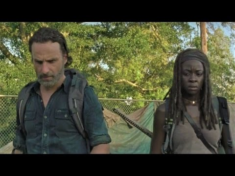 "THE WALKING DEAD S07E12 Official Clip ""Rick & Michonne Hunt for Guns"" (HD) Andrew Lincoln Series"
