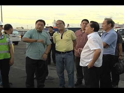 Visit to Pier 15, Port of Manila