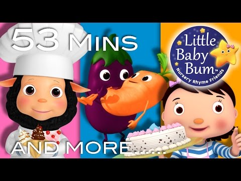 Thumbnail: Food Songs | Part 2 | Plus Lots More Nursery Rhymes | 53 Minutes Compilation from LittleBabyBum!