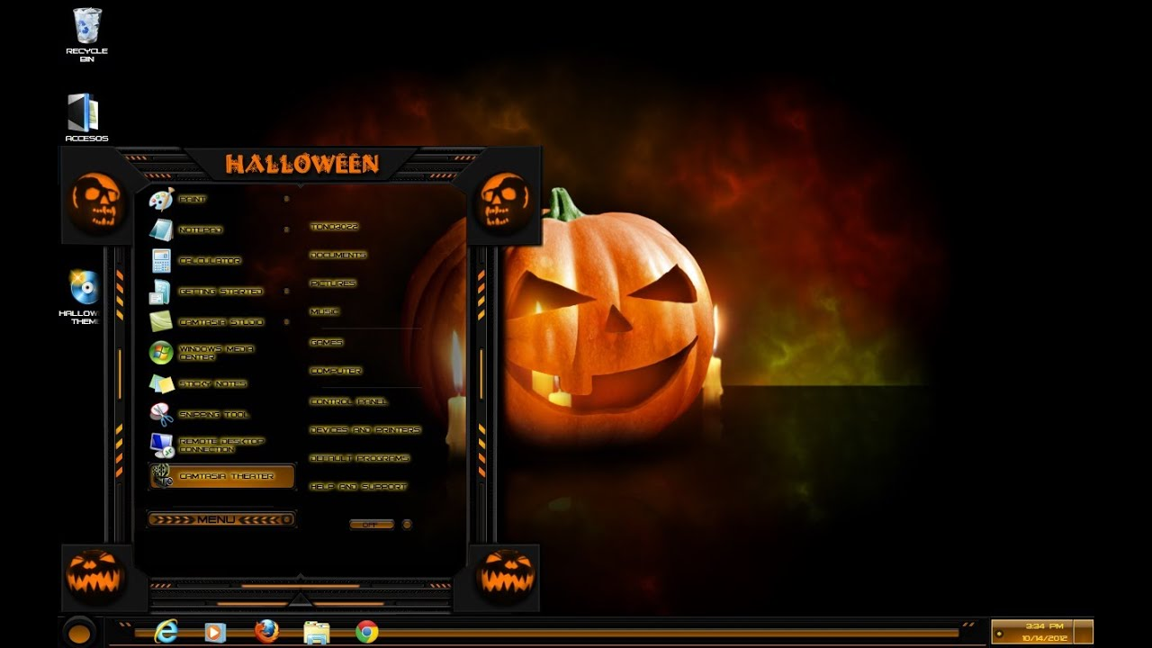 try ad free for 3 months - Windows 7 Halloween Theme