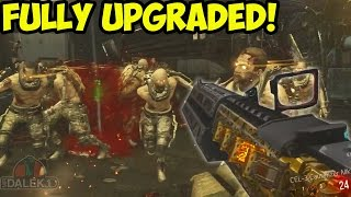 """FULLY UPGRADED WONDER WEAPON!"" - Advanced Warfare EXO ZOMBIES Gameplay! CEL 3 CAUTERIZER UPGRADED!"