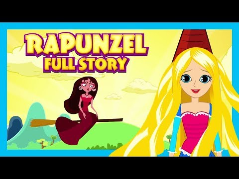Rapunzel Full Story - English Stories || Animated Story Series - Kids Hut Stories