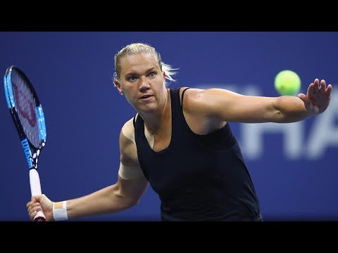 US Open 2017 In Review: Kaia Kanepi