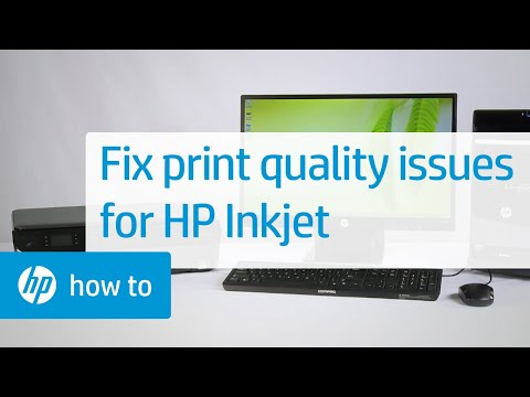 Troubleshooting Print Quality Problems | HP Inkjet Printers | HP