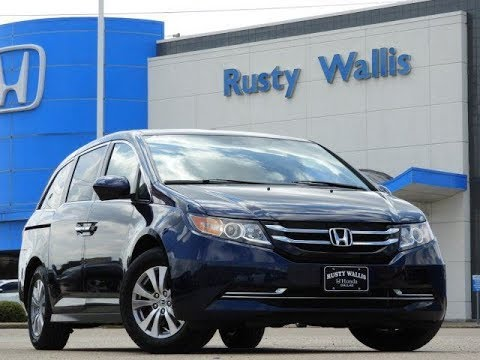 used cars 39 16 honda odyssey ex l at rusty wallis in dallas tx en espanol youtube. Black Bedroom Furniture Sets. Home Design Ideas