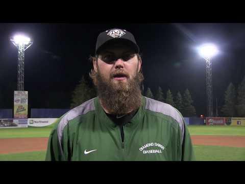 2017 PGCBL Championship - Mohawk Valley Head Coach Blake Nation
