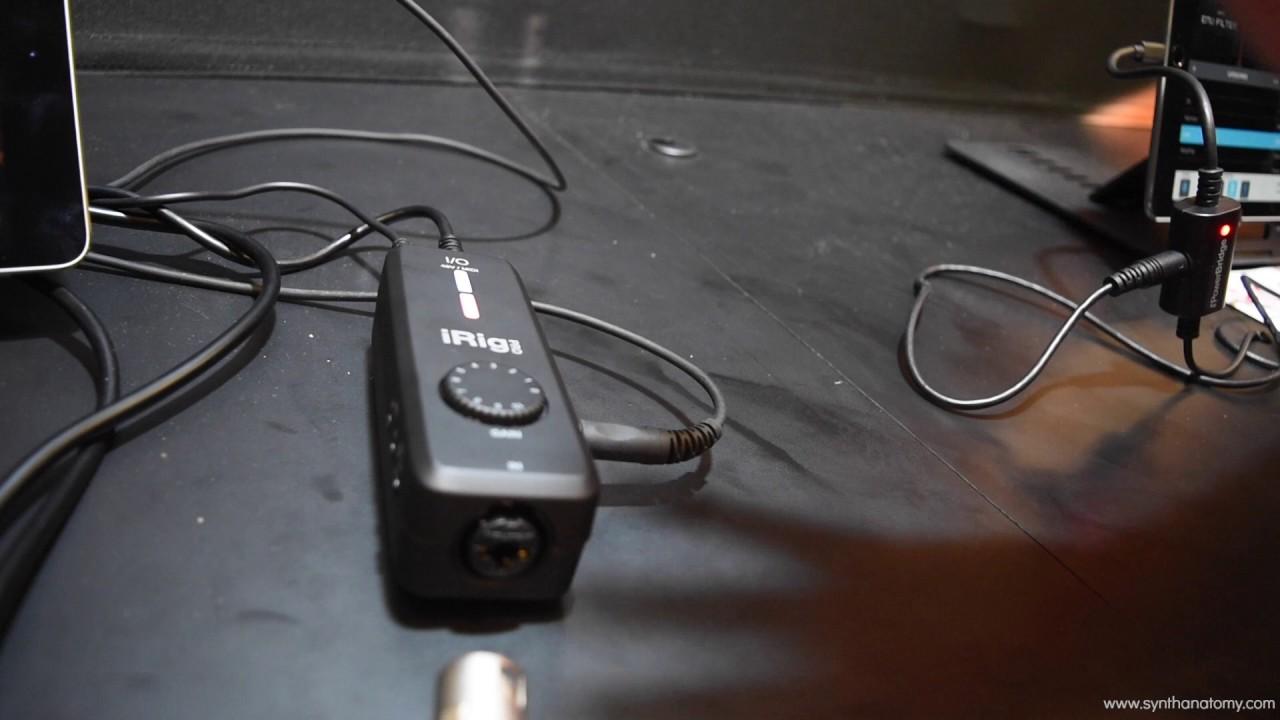 IK Multimedia iRig Pro I//O interface-adaptador MIDI MIDI, MIDI Interfaz MIDI