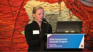 NSW Government Graduate Program  information session