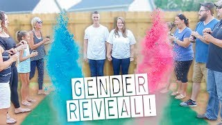 GENDER REVEAL PARTY for Baby #3!