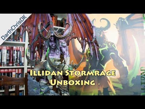 Unboxing: Illidan Stormrage Statue (Blizzard Entertainment)