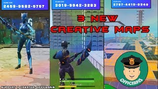 3 New Fortnite Creative Maps - Finally have codes!!