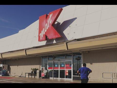 USA 2016  Abandoned 1990s Kmart Store Tour Christmas