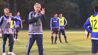 【日本代表候補合宿】5/12 国内でプレーする28選手が参加