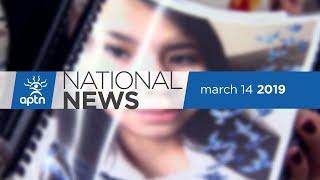 APTN National News March 14, 2019 – Manitoba's Child Advocate, Mi'kmaq control over education