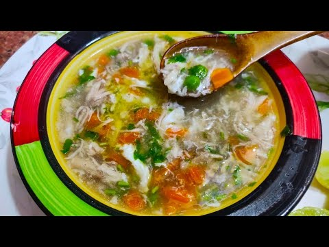 Chicken Vegetable Soup | Restaurant Jaisa Perfect Soup |  Easy Vegetable Chicken Soup | Soup Recipe