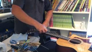 Taylor Guitar Set Up
