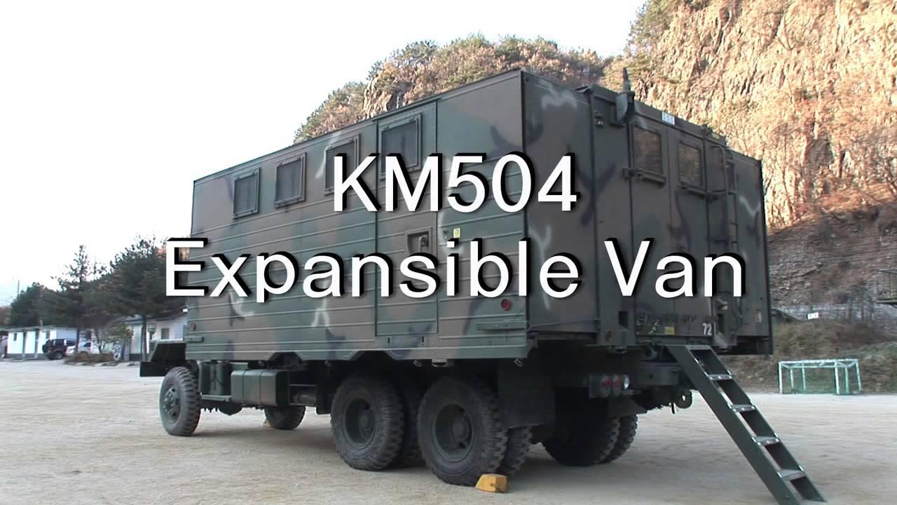 Kia military vehicle 5ton series km500