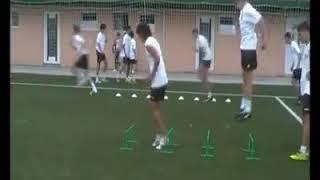 Football soccer drills - jumping drills