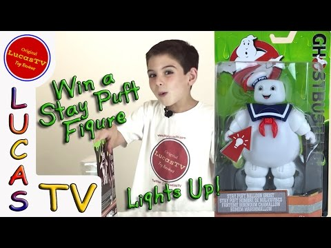 Ghostbusters 6 Inch Stay Puft Balloon Ghost Marshmallow Man Light Up Figure