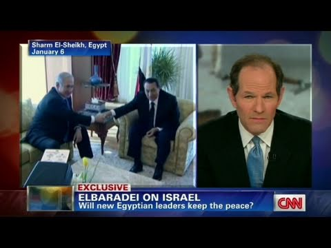 CNN Official Interview: Mohamed ElBaradei 'Egypt won't toss peace treaty'