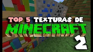 TOP 5   PACKS DE TEXTURAS PARA MINECRAFT [1.13.1] + DESCARGA #2
