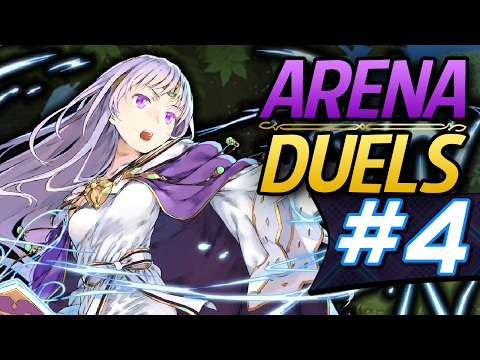 Fire Emblem Heroes: Online Arena Duels #4 - Julia's Holy Magic! (Advanced Difficulty)