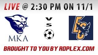 MKA vs. Easter Christian HS - Boys Varsity Soccer