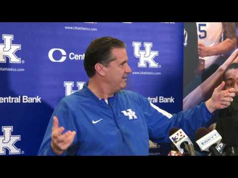 Calipari likes NCAA releasing top 16 seeds